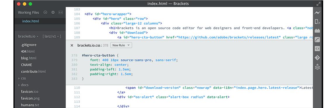 Captura de pantalla de soportes